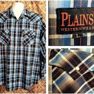 Plains Western Wear Men's Shirt